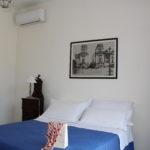 Camera matrimoniale appartamento con aria condizionata