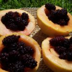 Il Dammuso Palermo fruit de mûrier dans notre jardin