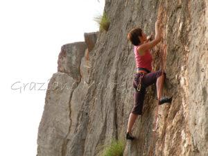 Parete d'arrampicata vicina a Sferracavallo Palermo