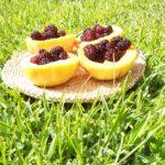 Il Dammuso jardin de Palerme avec des fruits de mûrier