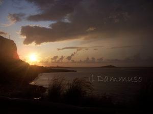 Vista di Isola delle Femmine da Sferracavallo