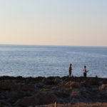 Sunset fishing in Sferracavallo