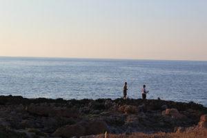 Pesca al tramonto a Sferracavallo