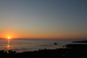 Calma del tramonto su Sferracavallo